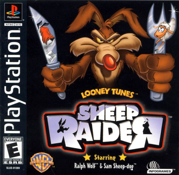 Looney Toons Sheep Raider (bin) Front Cover
